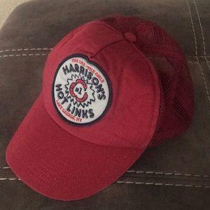 """""""Harrison's Hot Links"""" trucker hat"""